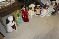 Lot of Collector Dolls