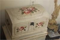 Decorative Floral Chest,