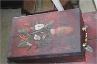2 Decorative Storage Boxes