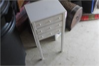 3 Drawer Table,13x10x29 tall