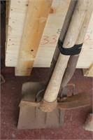 Shovel,Grubbing Hoe & Fork