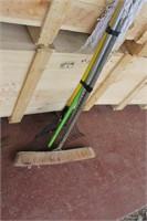 Push Broom,Rake & Mop
