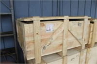 Wooden Crate with Lid,45x34x24 Tall