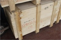 Wooden Crate with Lid,39x33x28 tall