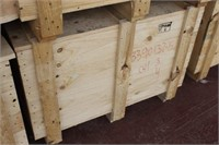 Wooden Crate with Lid,40x34x27 tall