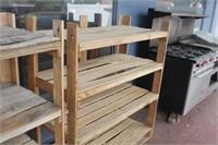 Wooden Shelf,47x23x53 tall