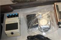 Boss AC Adapter & Panasonic Camera