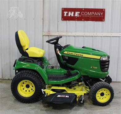 JOHN DEERE X738 For Sale - 54 Listings | TractorHouse com