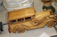 Wooden Model Car