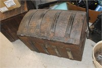 Antique Trunk with Tray