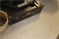 Vintage Flat Top Trunk