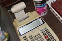 Canon Calculator with Paper Rolls