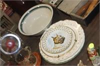 Collector Plates & Stoneware Bowl