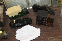 Lot of Collector Bottles & Hand Dish