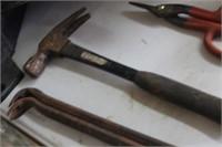 Snips,Pry Bars & Hammer