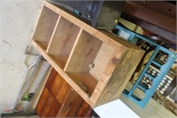 Wooden Shelf,17x12x39 tall