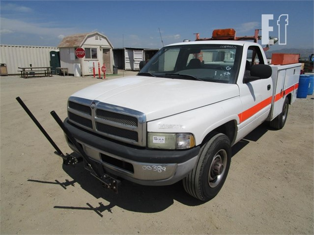 Lot # 912 - 2002 DODGE RAM 2500 For Sale In Perris, California