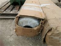 (2) Green House Plastic 8ft