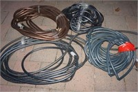 LOT OF GARDEN HOSE - USED