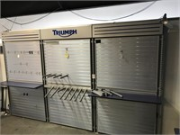 Triumph identity display unit