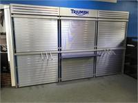 Triumph display wall unit