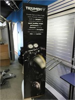 Triumph 3 sided sign