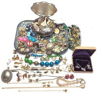 COSTUME JEWELRY COLLECTION/EARRINGS