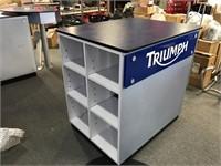 Triumph brochure cabinet