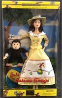 2000 BARBIE AND CURIOUS GEORGE DOLL
