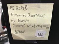 Rizoma rear sets