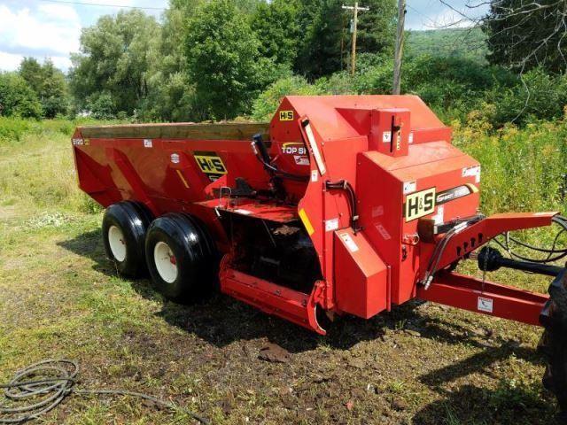 H S 5120 Topshot Manure Spreader William Kent Inc