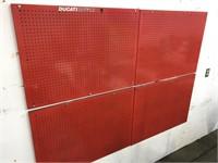 Ducati metal wall display