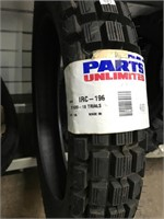 Trials IRC-196 tire