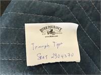 Triumph Tiger seat