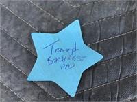 Triumph back rest pad