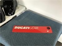 Ducati Gear metal sign
