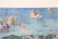 Gifford Beal (American, 1879-1956) O/C