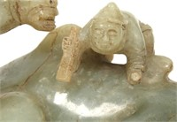 Antique Chinese Jade Carved Camel