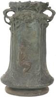 Large Double Handled Floor Vase