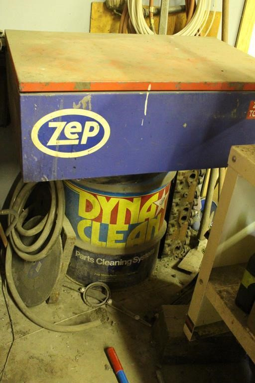 Zep Dyno 143 Parts Washer | Cates Auction & Realty Co , Inc