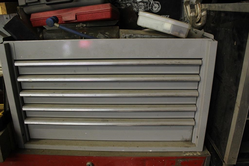 Gray Harley Davidson Snap-On Tool Chest | Cates Auction & Realty Co
