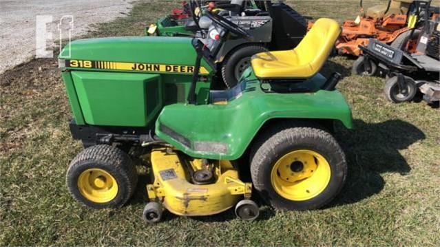 John Deere 318 >> John Deere 318 For Sale In Markleville Indiana Equipmentfacts Com