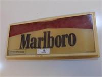 VINTAGE MARLBORO PLASTIC SIGN
