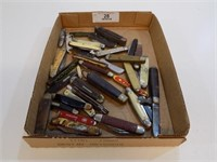 LARGE LOT OF VINTAGE KNIVES AS-IS