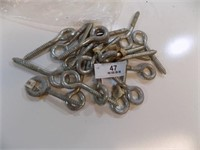 LOT OF 20 NEW 4 INCH EYE BOLTS
