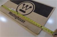 VINTAGE WESTINGHOUSE SIGN-FIBERBOARD TYPE