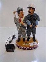 """TALKING """"WHOS ON FIRST"""" ABBOT AND COSTELLO TOY"""