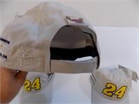 LOT OF 3 NEW NASCAR JEFF GORDON HATS