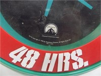 VINTAGE MOVIE ANOTHER 48 HOURS CLOCK PARAMOUNT