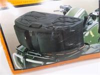 NEW BLACK LARGE ATV FRONT RACK BAG 30X12X11